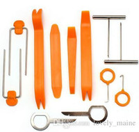 Wholesale 12Pcs Practical Install Removal Repair Tool For all kinds of Car Audio Orange V