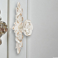 Wholesale Antique Gold Rose Cabinet Handle Door Drawer Dresser Cupboard Pull Handle Door Knob