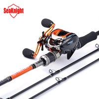 baitcasting reel tips - SeaKnight Super M Two Tips BaitCasting Lure Fishing Rod New Anti Corrosive BB Super Light BaitCasting Fishing Reel Set