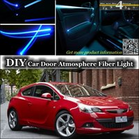 astra lights - interior Ambient Light DIY Tuning Atmosphere Fiber Optic Band Lights For Holden Commodore Car Door Panel illumination Refit
