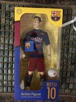 barcelona toys - 12 inch CM ZCWO Barcelona championship Messi doll toys cartoon souvenirs