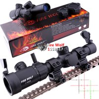 shooting targets - 2016 NEW Fire Wolf TR1 X20 Riflescopes Rifle Scope Hunting Scope w Mounts suitable for Hunting Target shooting or Tactical use