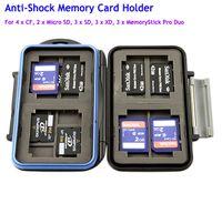 Wholesale JJC MC Anti shock Memory Card Case xCF x Micro SD Memory Card Hard Storage Protector Waterproof For x SD x XD