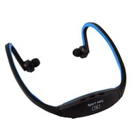 Wholesale Wireless Sport Stereo Neckband Headphone Headset MP3 Player FM Support TF Card
