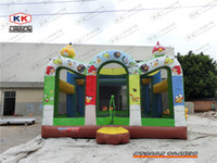 playground equipment - Top fun outdoor playground equipment inflatable modeling bouncer for sale