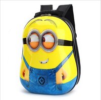 Wholesale Children inch small yellow bag man bag men and women cartoon nursery pupils crusty shell backpack animals