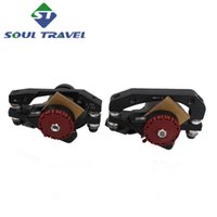 bicycle brake calipers - Bicicleta Soul Travel Aivd Aluminum Line Pulling Disc Brake Mountain Bike Mechanical Calipers Mtb Bicycle Parts Pair Limited New