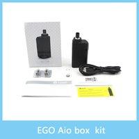 Le kit de début de boîte de Joyetech eGo AIO de vente chaud avec la capacité de 2100mAh de e-Juice de 2ml Le kit de boîte intégral d'eGo AIO de style de batterie tout-en-UN 100% Original
