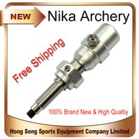 archery arrow rest - 1 PcsSilver New Archery Cushion Plunger Arrow Rest for Recurve Takedown Bow Hunting