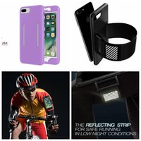 band iphone covers - Sport Armband Soft TPU Hybrid Case For Iphone Plus S SE S Galaxy edge Card Slot Box Silicone Belt Arm band Cover