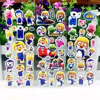 Wholesale Bubble Stickers Promotion Mixed D Foam Sponge Cartoon Kids Cute Puffy DIY Sticker for Praise Children Toys Plane Zootopia Spiderman Minion