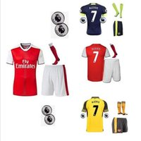 arsenal t shirt - DHL Mixed buy Arsenal kit jersey T shirt shorts socks Jerseys WILSHERE OZIL WALCOTT RAMSEY ALEXIS GIROUD Soccer Jersey