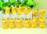 Wholesale Hot cm Poke Pocket Monster Pikachu Doll Toys ABS Action Figure Toys Children Kids Cosplay Cartoon Toys Gifts