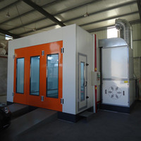 bake spray paint - High Quality Car Spray Booth Electric Heating Painting And Baking Room