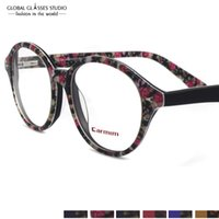Wholesale European Fashion Dapper Vintage Inspired Key Hole Round Spectacles Eyewear Glasses G
