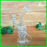Wholesale mini glass water pipes oil rigs fab egg with bowl perc mm bowl female joint
