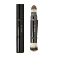 best brushes for foundation - hourglass double end foundation and detaiil brush best for foundation and highlighter old logo real photo