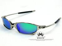 al por mayor x gafas de sol deportivas-Los hombres al por mayor-Originales de Romeo polarizaron las gafas de sol de los deportes del deporte del metal de Julia X de Aolly Juliet Oculos ciclismo gafas