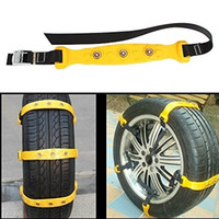 bag mate - Aumo mate bag Car Snow Chain Security Chain Tire Chain Universal Emergency Pure Tendon Thickening Anti skid Chains