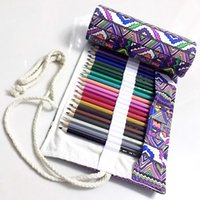 Wholesale Pencil minimalist creative handmade ethnic style pen Pouch Pencil Mass student supplies art pencil admission package
