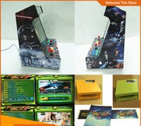 arcade machine table - 19 inch LCD Desk Arcade Game Machine With Game in jamma board Player Table Top Arcade Horizontal Games Game Cabinet