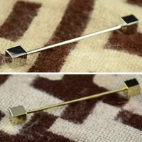 bar cad - Mens Necktie Tie Clip Bar Clasp Cravat Pin Skinny Collar Brooch Jewelry C00030 CAD