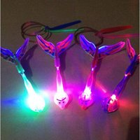 Wholesale 50 Pieces New Gadgets light ejection birds may fly sword flashing outdoor toys for children