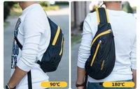Wholesale NatureHike Waterproof Nylon Single Shoulder Bag Chest Bag Running Messenger bag Pouch Bosom Bag Outdoor Sport climbing backpack