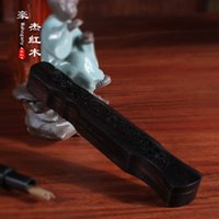 Wholesale Rosewood Ebony Wood lying seven Guqin Bodhi incense incense purple pomander lying with sandalwood incense products