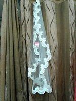 beauty net - 2016 Charm Bride Veil Lace Bridesmaid Accessories Generous Veil White Ivory Short Wedding Veil One Layer Bridal Veils simple beauty veils