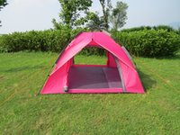 Wholesale New Arrival outdoor capming for persons Rain proof Tents and windproof portable traveling Tents and Shelters Hinking Fishing travel