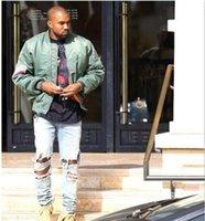 air force pullover - New fashion Jacket Hip Hop Men Brand YEEZUS Jacket Camouflage Air Force Flight Bomber Jacket Men Kanye West coat