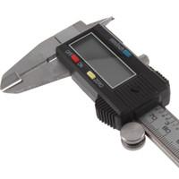 Wholesale 0 MM Electric LCD Stainless Steel Plastic Digital Calliper Vernier Dial Caliper Gauge Micrometer D Length Higth Width Meter