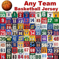 Wholesale Best Quality Basketball Jersey Any team Shirts Mix Order Jersey Customize Free Drop Shipping All Team Jerseys