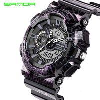Cheap Mens Watches 2016 SANDA Fashion Watch Men G Style Shock Military Waterproof Wristwatches Luxury Analog Digital Sports Watches