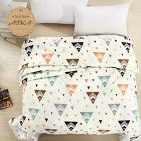 Wholesale cotton gray blue Beige comforter quilt duvet summer seasons beautiful goodliness Bohemia quilt comfortable