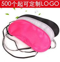 Wholesale Outdoor traving airplane sleeping mask Type comfortable sleep eye masks Cover Blinder Blindfold Eye Patch eye care protection