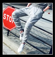 beam m - New Multi Pocket Pants Men Sports Casual Pants Fashion Silm Solid Color Cotton Pants Beam Foot Trousers