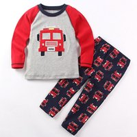 american police cars - boys cartoon police car herd sweatshirt and Joggers trackie sets kids pullover coat child Jogging trousers children cotton wear size1 years
