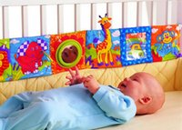 Wholesale Hot sale lam aze multifunctional fun bed around multi colored baby cloth books bed bumper baby toy CM