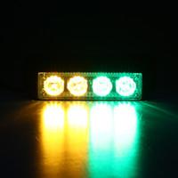 Wholesale Auto Led Light LEDs W Law Enforcement Emergency Hazard Warning Flashing Car SUV Truck Vehicle Construction LED Yellow Green