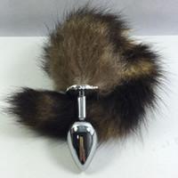 Cheap Butt Plug Best Fox Tail Metal Butt Plug