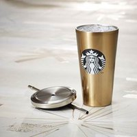 sippy cups - Stainless steel sippy cup Starbucks travelling cup temperature keeping cups