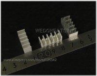 Aluminium Epoxy Expédition gratuite 10pcs Fixer Sur Dissipateur Transistor Avec Fins droites pour cas DIPS en aluminium pour iphone