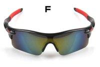 Wholesale New Upgrade Cycling Bicycle Bike Sports Eyewear Sun glasses Men Women Riding Fishing Glasses Colors DHL Shipping