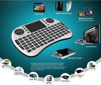 overseas - HOT Portable Backlight mini keyboard Rii Mini i8 Wireless Keyboard Touch Pad with retail package shipped overseas warehouse USPS