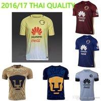 american soccer shirts - NEW Top Thai American team yellow blue red American Lion Tiger survetement shirts jersey de futbol Shirts Soccer rugby jerseys