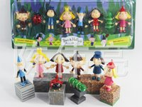Wholesale 2016 New Arrive Cartoon Ben and Holly s Little Kingdom Action figures parenting activity Game gift for Kids Christmas Toys