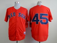 best red sox - Boston Red Sox Mens Jerseys Pedro Martinez Red Baseball Jersey Best Quality Size M XXXL