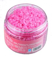 Wholesale Rose dead sea bath salts mineral salt foot bath salt full body whitening exfoliating corneous